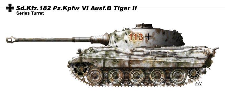 Le Königstiger ( ou Tigre Royal ou Tigre II ) 1000(1)