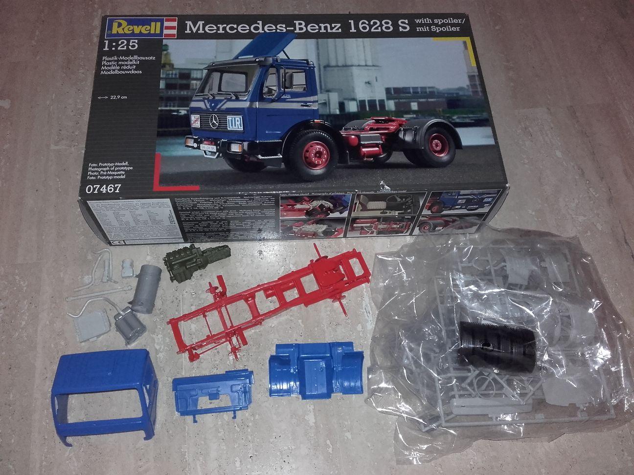 accessoire maquette camion 1//24 pour italeri ou revell pare choc