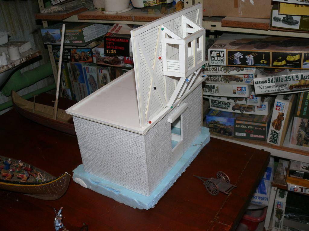 diorama m dieval 6 f vrier 886 gen se du projet la tour amm association des maquettistes du. Black Bedroom Furniture Sets. Home Design Ideas